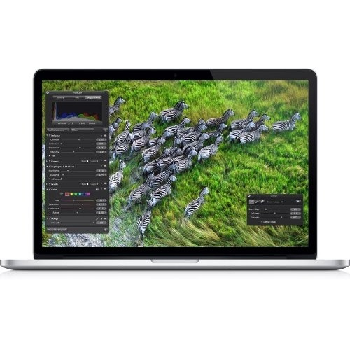 "Apple MacBook Pro ME664LL/A 15.4"" 256GB i7,Silver (Refurbished)"
