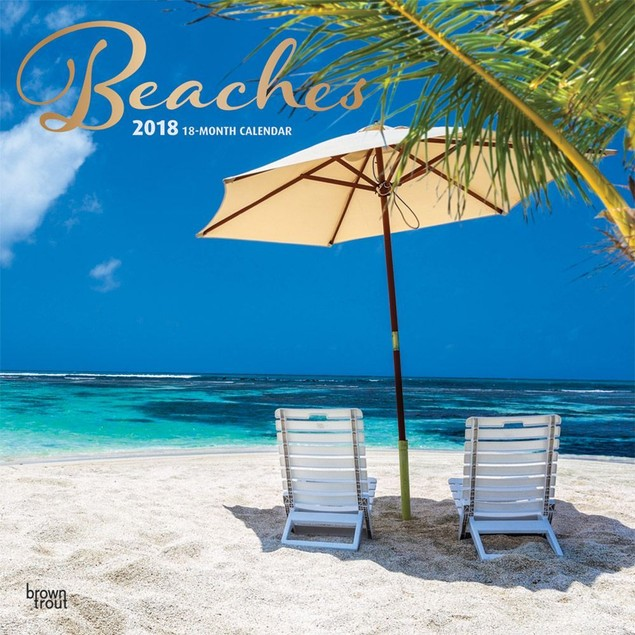 Beaches Wall Calendar, Beaches by Trends International