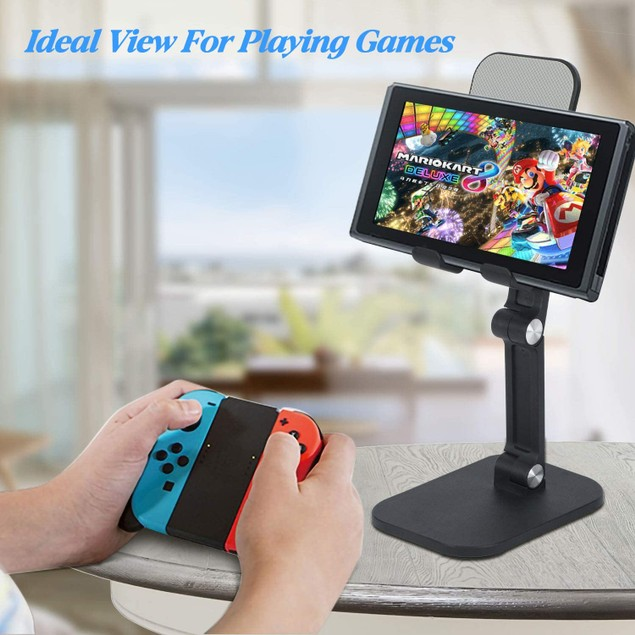 Universal Tablet & Mobile Phone Stand with Adjustable Height