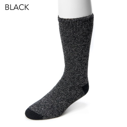 MUK LUKS ® Men's 1-Pair Heat Retainer Socks