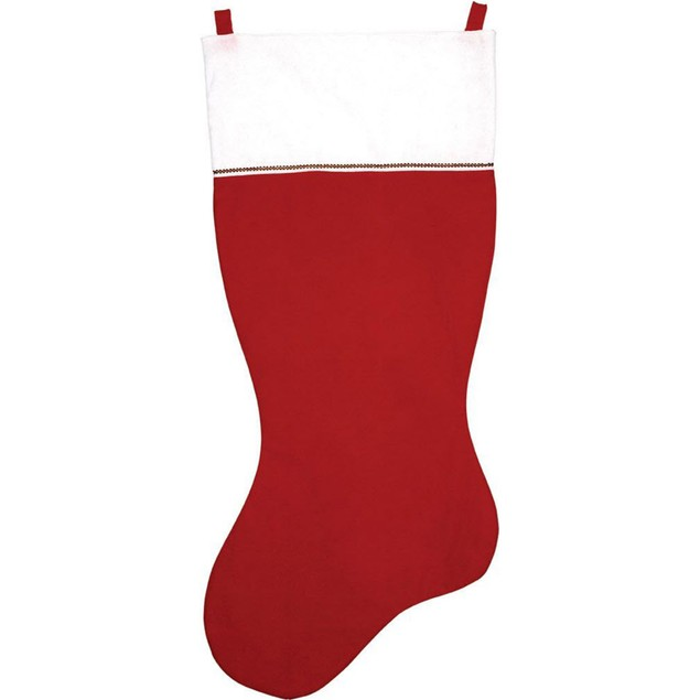 "60"" Jumbo Felt Stocking Christmas Xmas X-mas Santa Decoration Holiday"