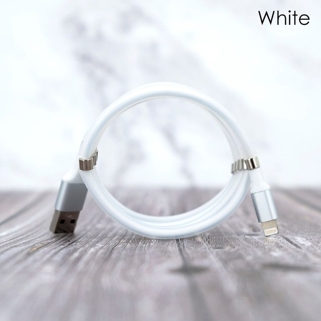 Magnetic Tangle-Free Lightning Cable