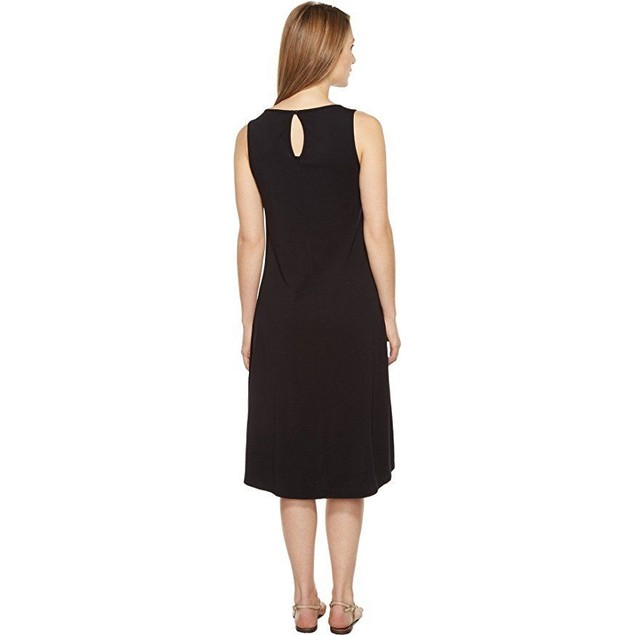 Mod-o-doc Women's Cotton Modal Spandex Jersey Crossover Hem Dress SZ: