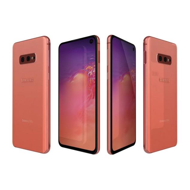 Samsung Galaxy S10e, Unlocked, Pink, 256 GB, 5.8 in Screen