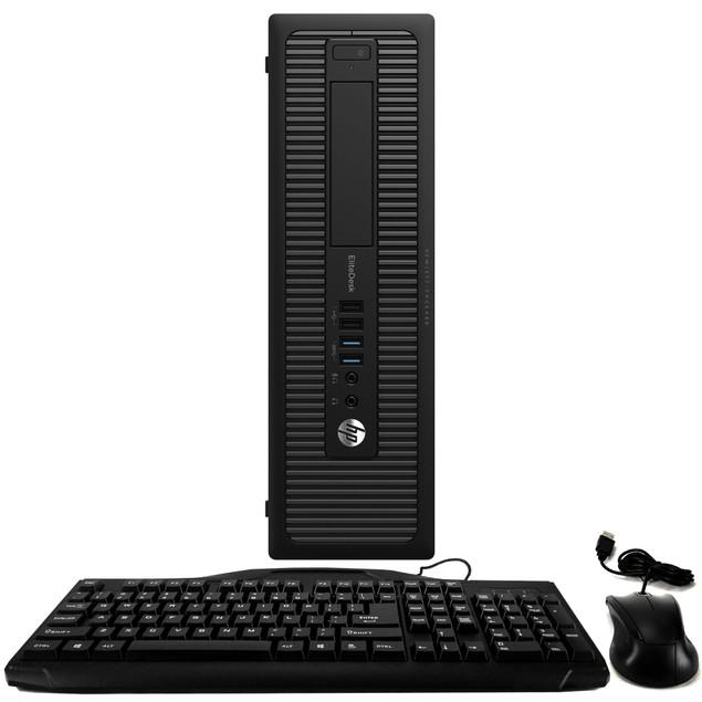 HP 800G1 Desktop Intel i5 16GB 2TB HDD Windows 10 Home