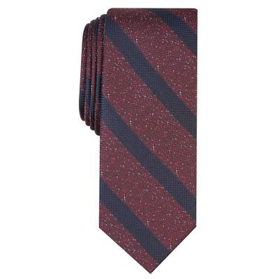 Bar III Men's Hayden Stripe Tie Brown Size Regular