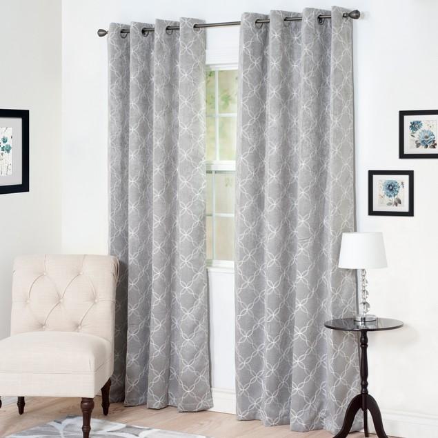 Lavish Home Myra Room Darkening Curtain Panel