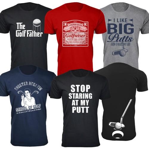 Men's Best Golf T-Shirts Ever