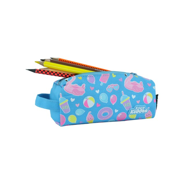 Smilykiddos Pencil Pouch Light Blue