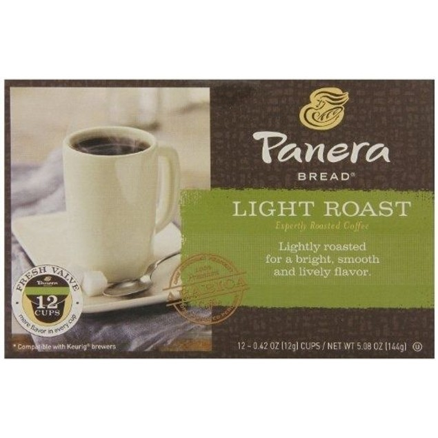 Panera Bread Coffee Light Roast Keurig K Cup 2 Box Pack