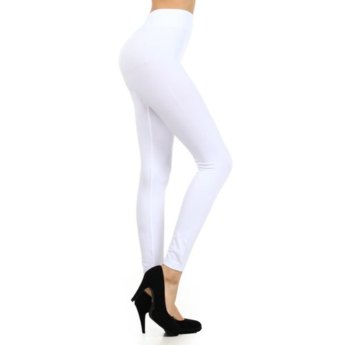 6-Pack Women's Solid Seamless Leggings Slim Fit Yoga Pants