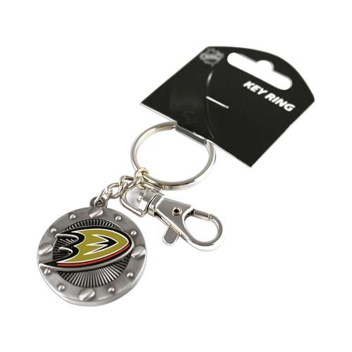 Anaheim Ducks NHL Impact Metal Key Ring Keychain