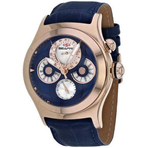Seapro Men's Chronoscope Blue Dial Watch - SP0135