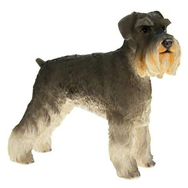 Schnauzer Figurine By Lesser and Pavey