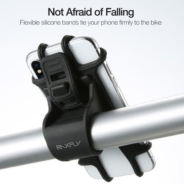 Raxfly Ultra Strong Durable Universal Bike Handlebar Phone Holder