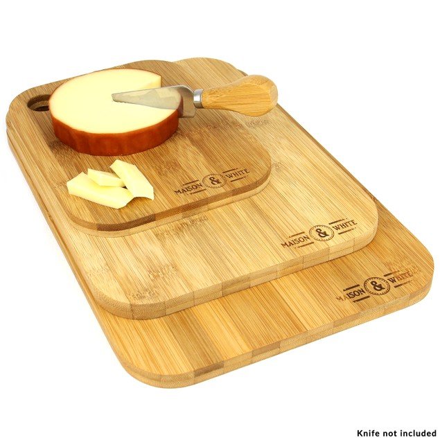 Bamboo Chopping Board - Set of 3 | MandW
