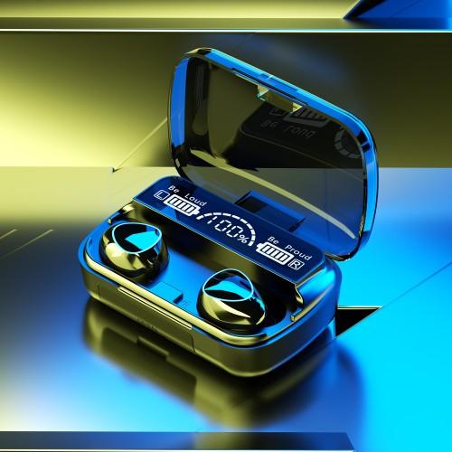 Wireless Earbuds TWS Waterproof Bluetooth 5.1 Headsets Noise Canceling Headphones