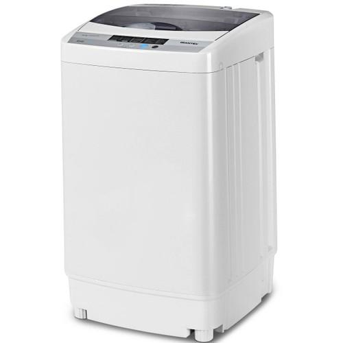 Portable Compact Washing Machine 1.34 Cu.ft Spin Washer Drain Pump 8 Water