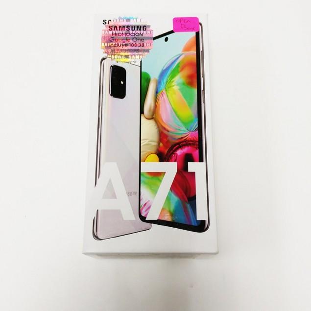 OB Samsung Galaxy A71 128GB SM-A715F/DS GSM Only 6GB RAM Phone - Silver