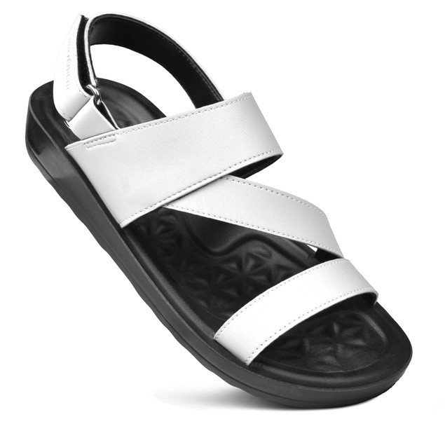AEROTHOTIC Tribolt Comfortable Walking Slingback Strappy Sandals for Women