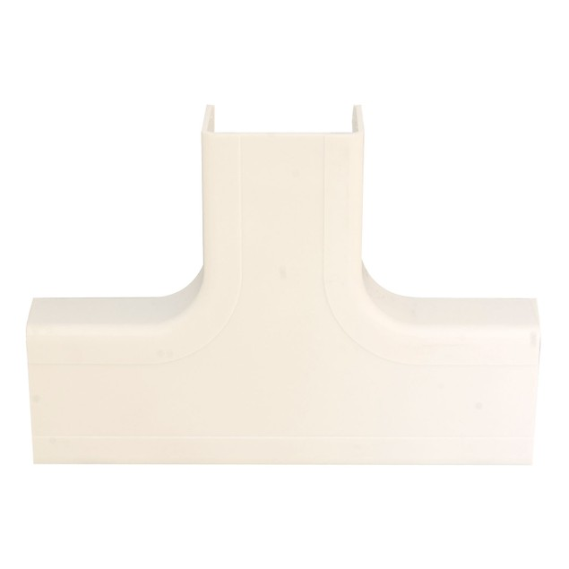 1.75 inch Surface Mount Cable Raceway, Ivory, Tee