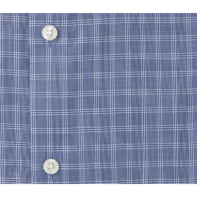 Tommy Hilfiger Regular Fit Checkered Non Iron Dress Shirt 15.5x32-33