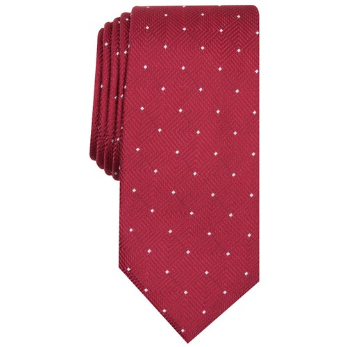 Alfani Men's Geometric Dot Tie Red Size Regular