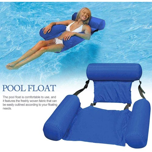 Inflatable Foldable Floating Bed