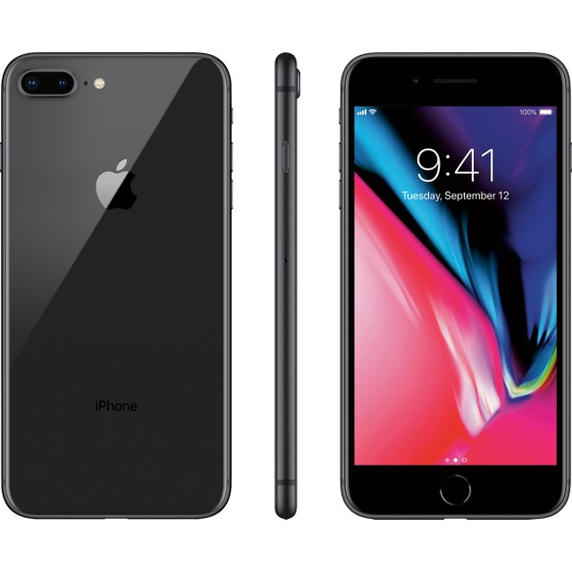 Apple iPhone 8 Plus 64GB Space Gray Unlocked