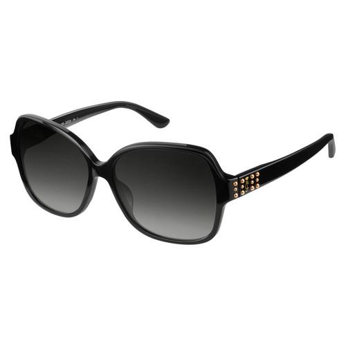 Juicy Couture Women Sunglasses JU592S 0807 Black 57 14 135 Square Gradient