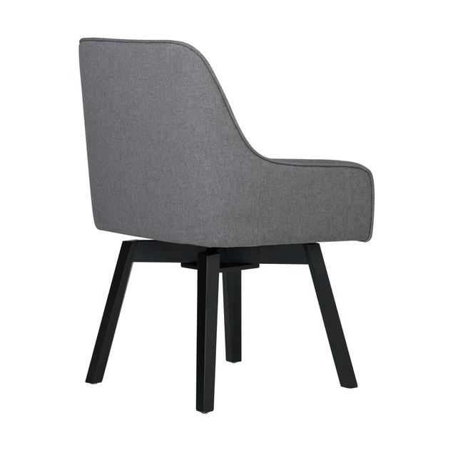 Studio Designs Home Spire Swivel Task Chair, Pewter