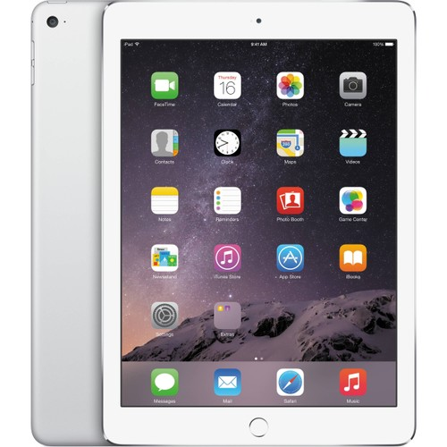 "Apple iPad Air 2 MGLW2LL/A 16GB Wifi 9.7"", White (Certified Refurbished)"