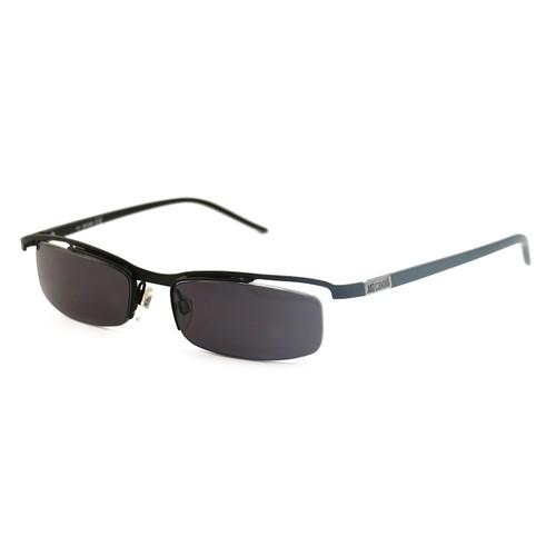 Just Cavalli Men's Sunglasses JC0054 0BR Black 54 17 135 Semi-Rimless Oval
