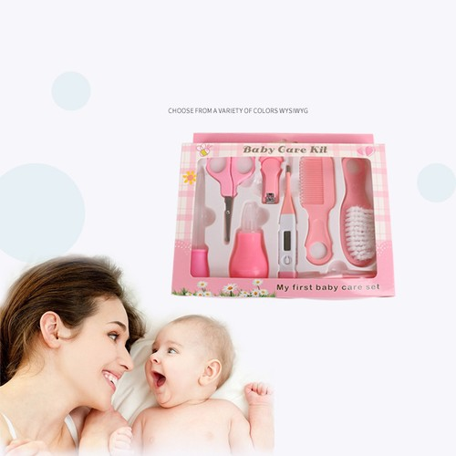 8-Piece Set Baby Nail Clippers Baby Care Products