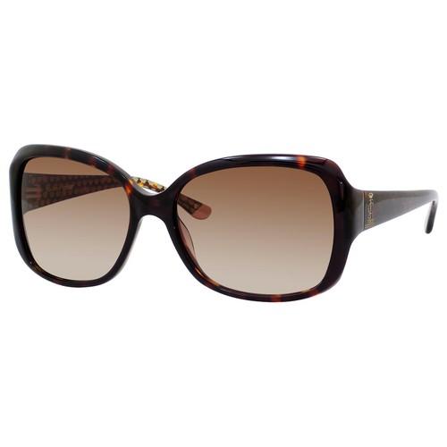 Juicy Couture Womens Sunglasses JU503S 0086Y6 Dark Havana Butterfly Gradient