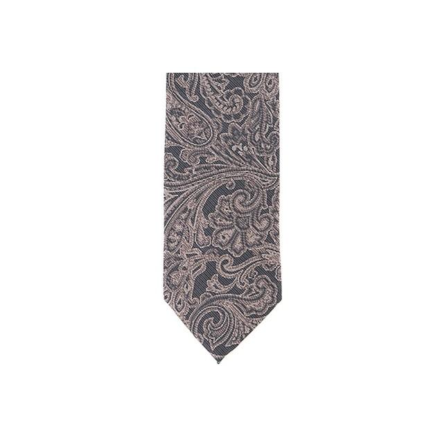 Ryan Seacrest Distinction Men's Wilson Slim Paisley Tie Pink Size Regular