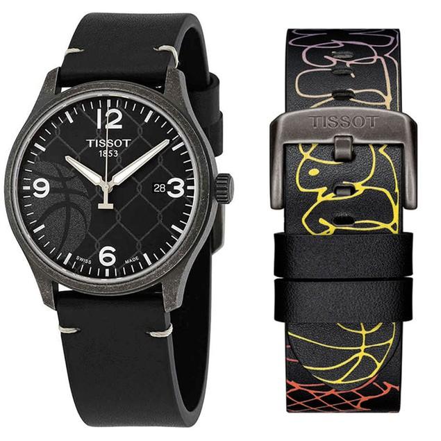 Tissot Men's Street Basketball Black Dial Watch - T1164103606700