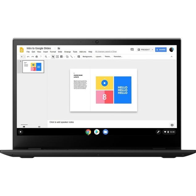 "Lenovo Chromebook 14e 14"" 32GB,Mineral Grey(Certified Refurbished)"
