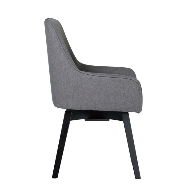 Offex Home Spire Swivel Task Chair, Pewter