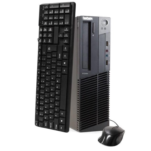 "Lenovo M92 Desktop Bundle with 19"" Monitor (Intel i5, 8GB RAM, 500GB HDD)"
