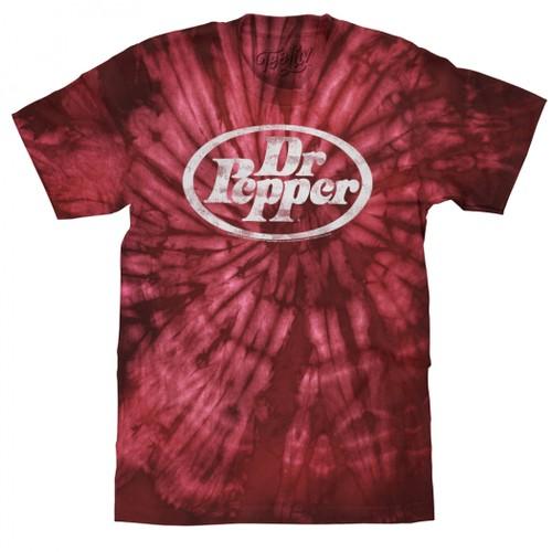 Dr. Pepper Red Tie Dye T-Shirt