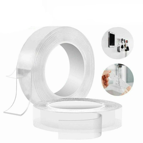 3 Meters Washable Reusable Nano Grade Double Sided Tape for Walls Anti-Slip