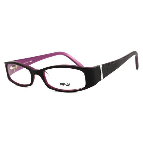 Fendi Women Eyeglasses FF720R 539 Purple 49 17 135 Full Rim Rectangle
