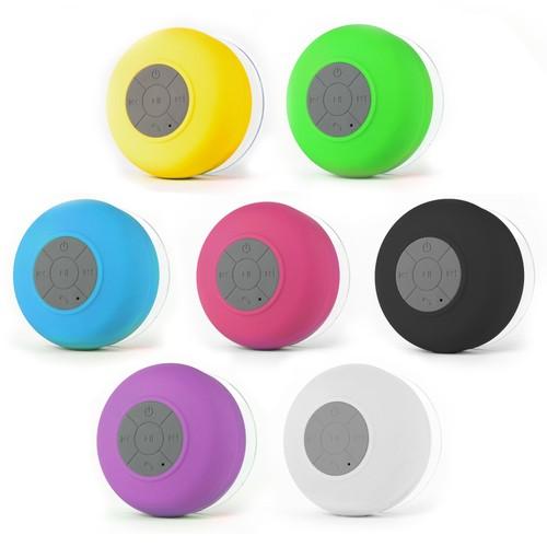 Large Bluetooth Waterproof Shower Speaker