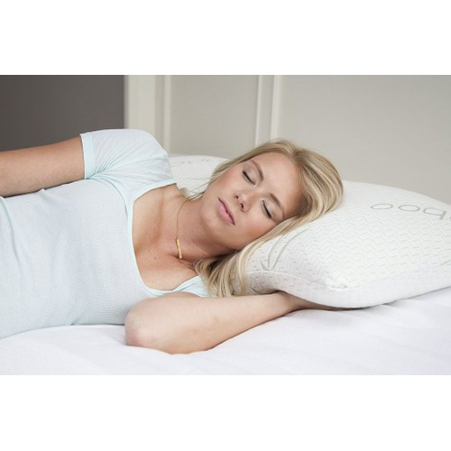 Premium Bamboo Pillow, Adjustable Memory Foam Pillow