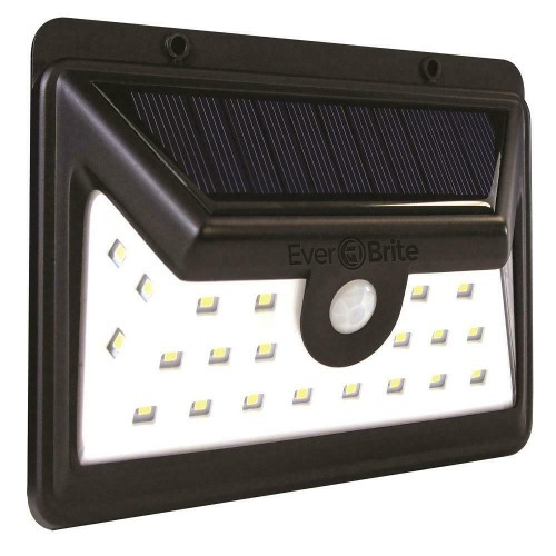 Ever Brite Ultra Solar Powered Motion Activated Outdoor LED Area Light,