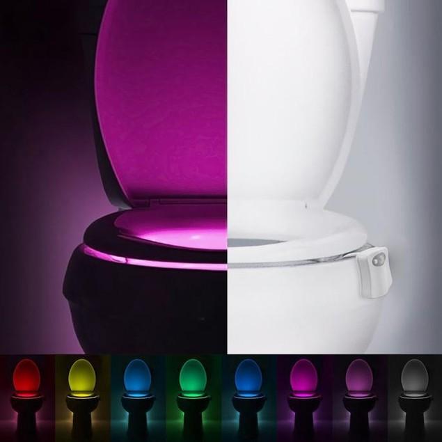Body Sensing Automatic LED Motion Sensor Night Bathroom Light