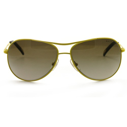 Polo Women's Sunglasses RA4043 238/13 Yellow 60 14 125 without case finish line