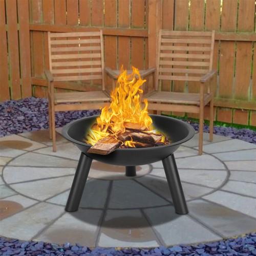 "22"" Iron Fire Pit Bowl"