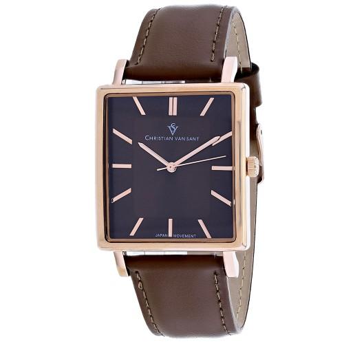 Christian Van Sant Men's Ace Brown Dial Watch - CV0435